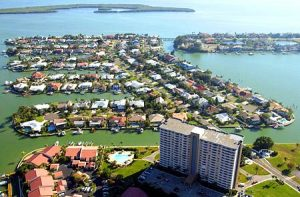 Aerial of Bayway Isles