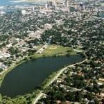 Crescent Lake Aerial