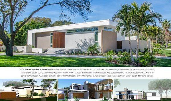 21st Century Modern Florida Living Brochure