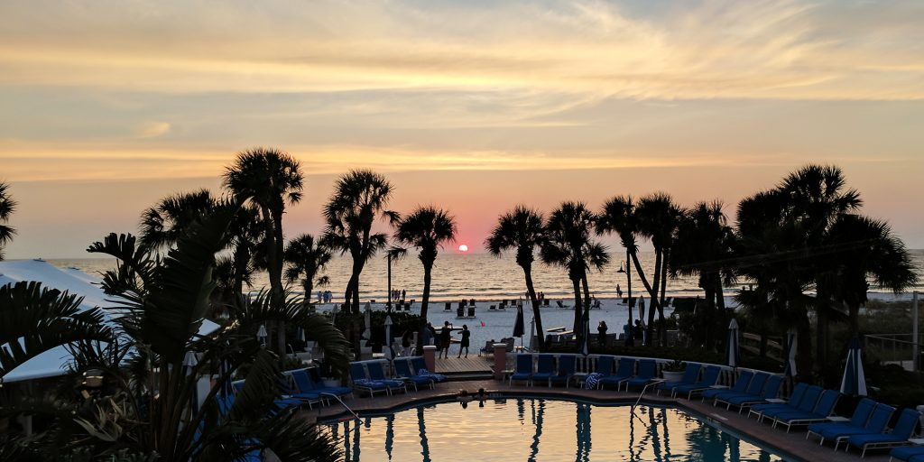 Sunset at the Don CeSar