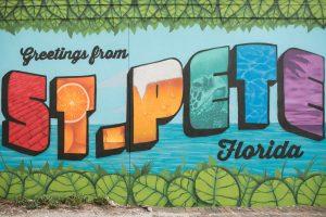 Murals In St Pete FL